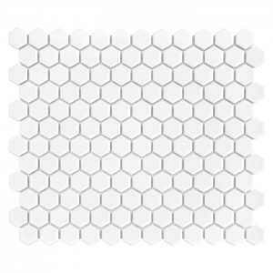 Dunin Mozaika  Mini Hexagon White