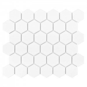 Dunin Hexagon White 51 Matt