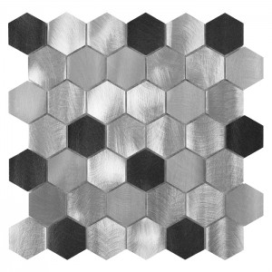 Dunin Allumi Grey Hexagon Mix 48