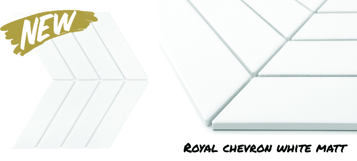 Dunin Royal Chevron White Matt