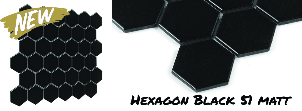 Dunin Hexagon Black 51 Matt